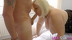 Brit gran Lacey Starr in lingerie